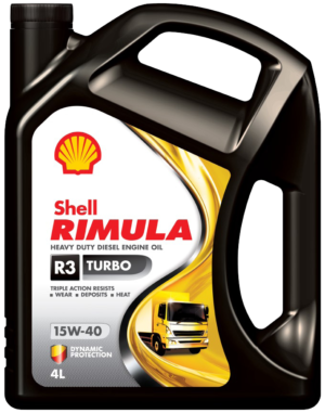 Shell Rimula R3 Turbo 15W-40